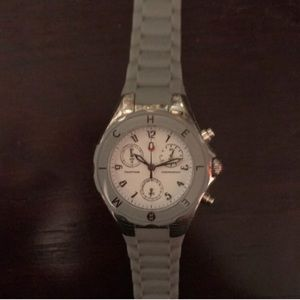 Michele Tahitian Jelly watch in gray